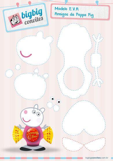 Molde EVA Suzy - Peppa Pig