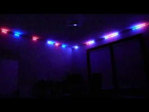 Sound Activated Led Strip Light 3528 Rgb With A Small Piece Of