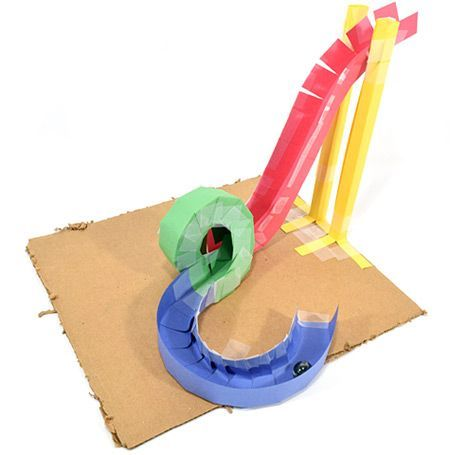 Build A Paper Roller Coaster Stem Activity Before You Try Building An Entire Roller Coaster Practice Paper Roller Coaster Coaster Projects Kid Roller Coaster