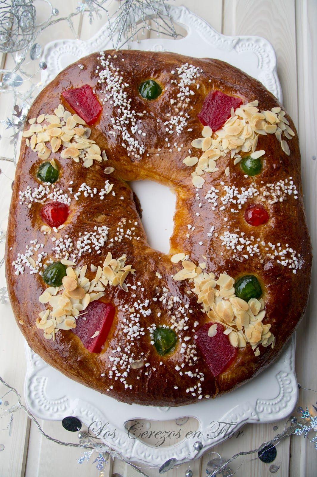 Los Cerezos En Flor Roscón De Reyes De Ibán Yarza Y Al Olor Del Pan Recetas De Galletas De Chocolate Masa Para Tartas Dulces Receta De Rosco