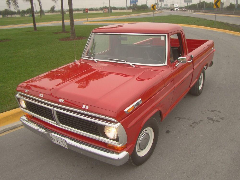1970 Ford F100 Classic Ford Trucks Old Ford Trucks Ford Trucks