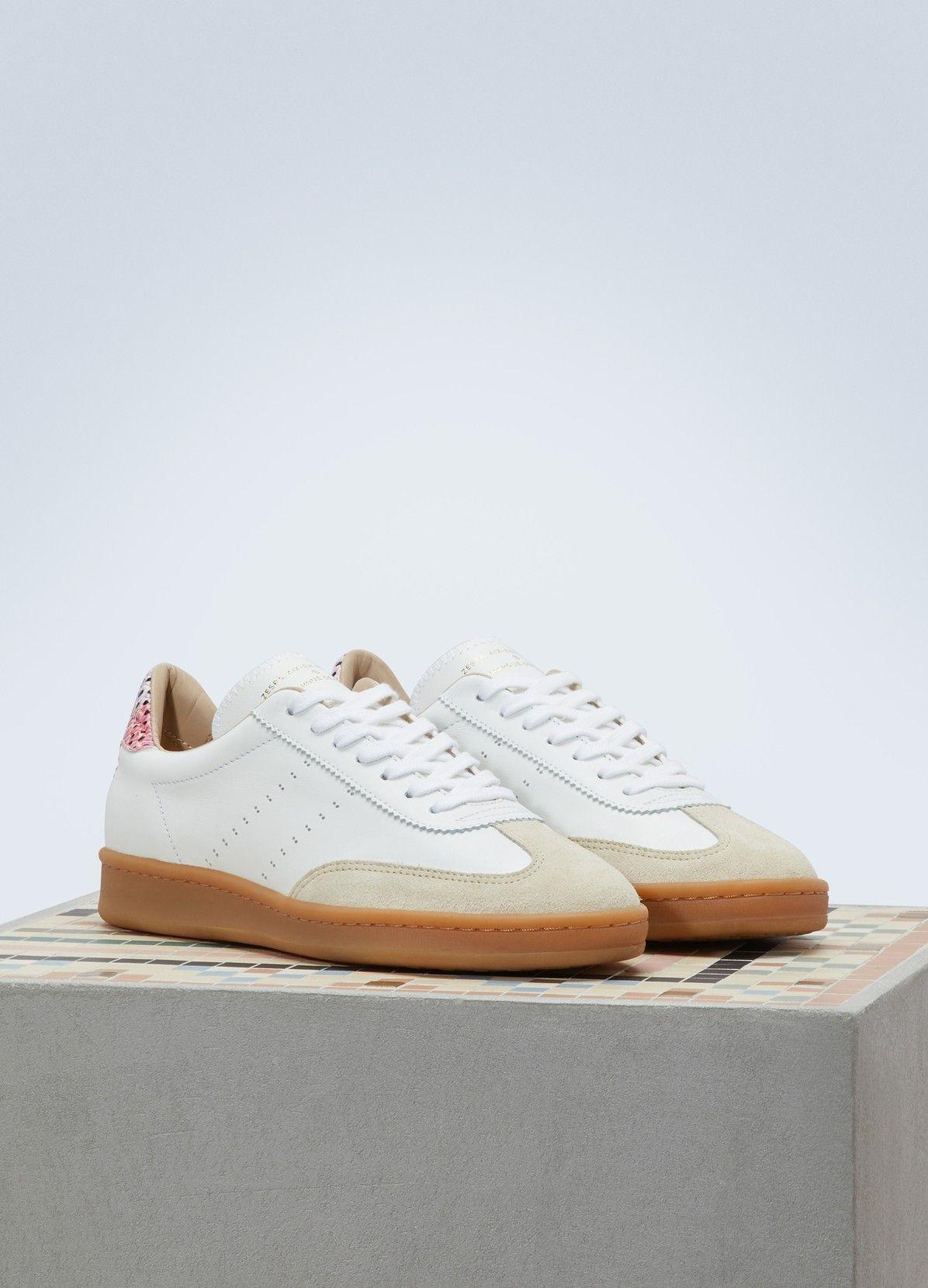 Zespà Nappa dots bi-material sneakers XVf1l