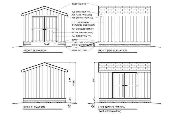 10x12 Shed Plans Gable Shed Storage Shed Plans Shed Plans Storage Shed Plans 10x10 Shed Plans