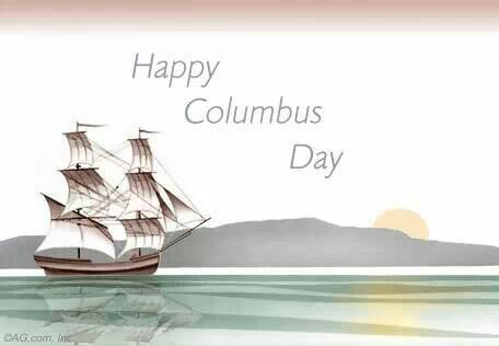 Columbus Day Post Or Social Media Happy Columbus Day Columbus Day Christopher Columbus