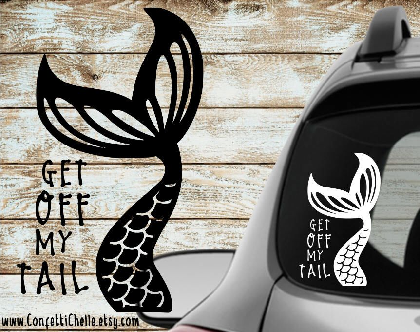 Etsy · mermaid tail decal sticker