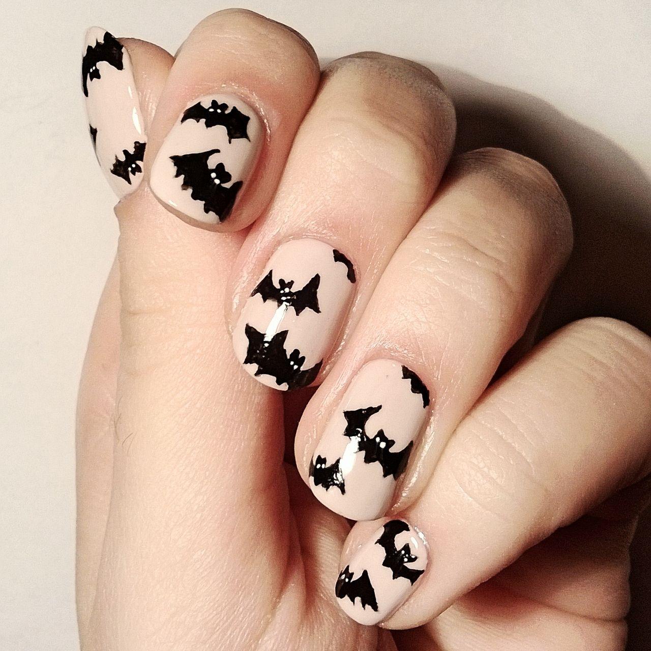 Halloween ♡ Inspo #halloween #cute #nail