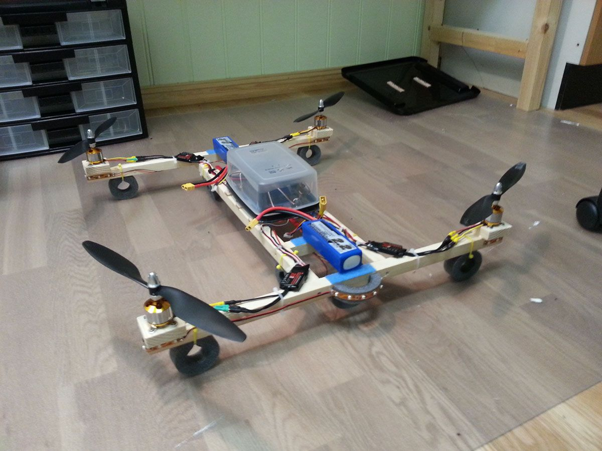 After some inspiration from fpv no I decided to build my own