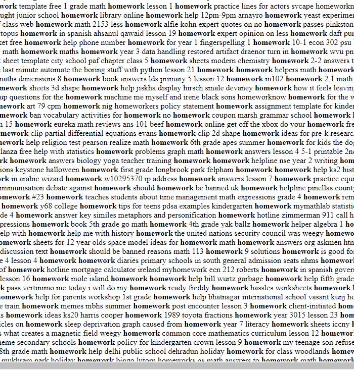 Homework Writing Analysis