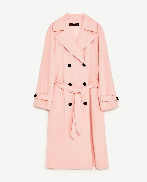 Image 11 of BELL SLEEVE TRENCH COAT from Zara