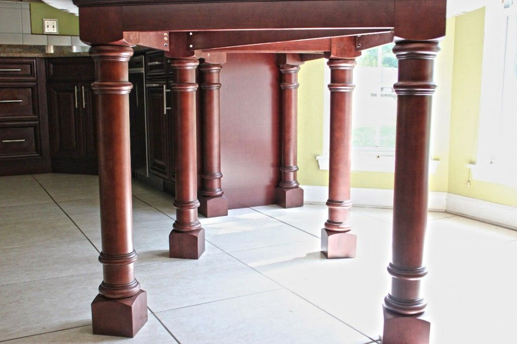 Custom Table Support System Table Legs For A Custom Granite Table