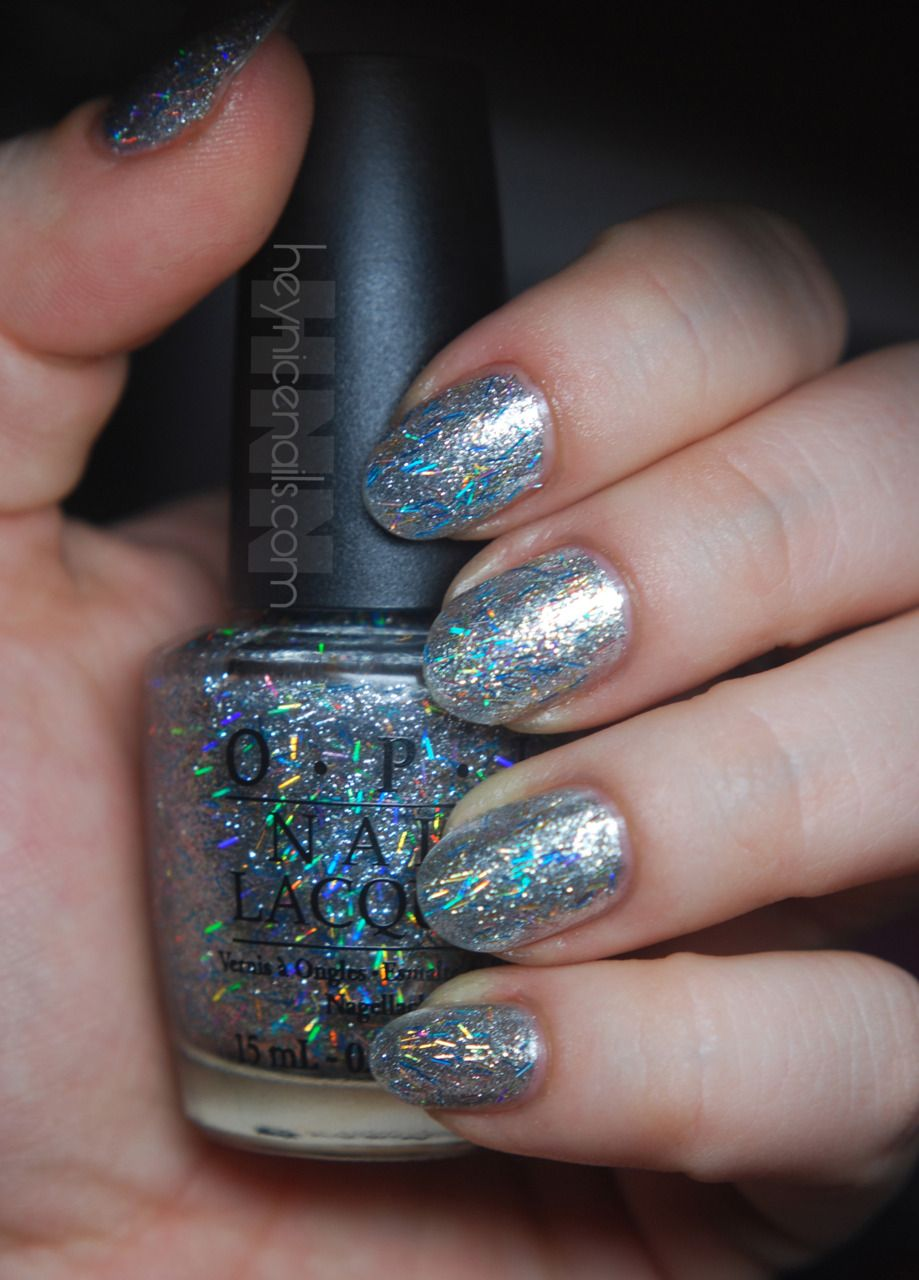 Nars Space Odyssey with two coats of OPI Save Me by Nicki Minaj ...