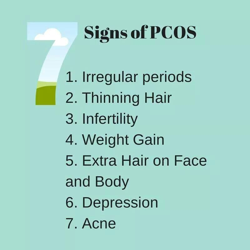7 Signs of PCOS | Signs of pcos, Pcos, Face, body