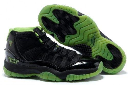 Nike Air Jordan Retro 11 XI Black Green