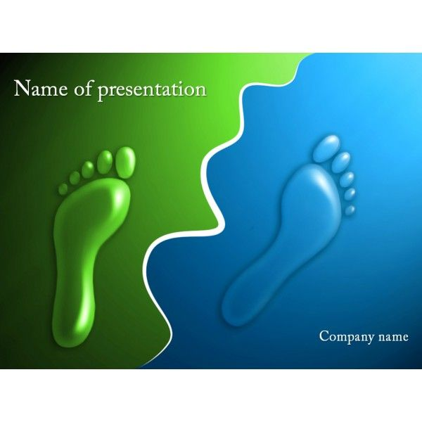 Footprints powerpoint template background for presentation free footprints powerpoint template background for presentation free teawlsa9 toneelgroepblik Images
