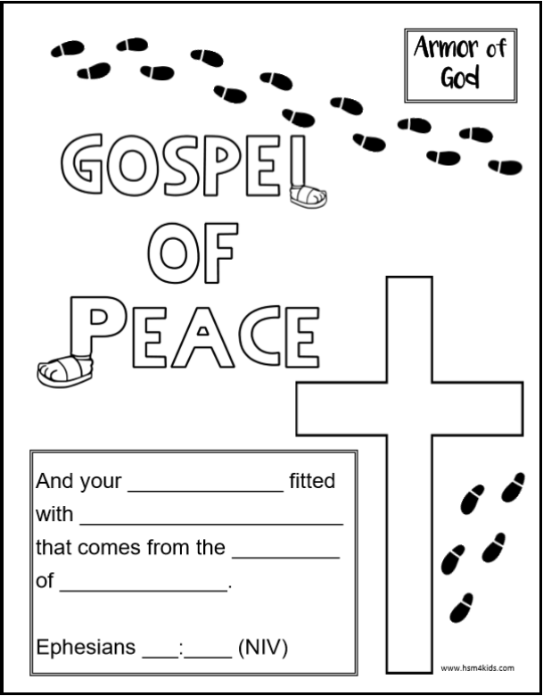 Shod your feet with the preparation of the gospel of peace