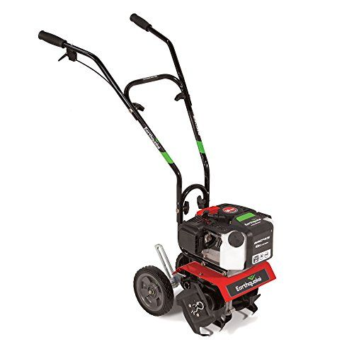 Power Tillers Earthquake Mc43 43cc 2cycle Carb Compliant Engine Mini Cultivator Tiller Read More At The Image Link Power Tiller Tiller Garden Cultivator