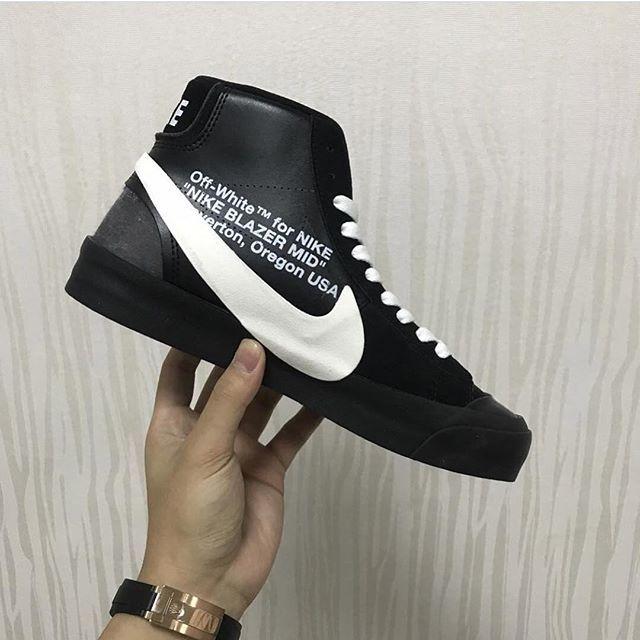Off White x Nike Blazer by @pinoe77 nike air max yeezy