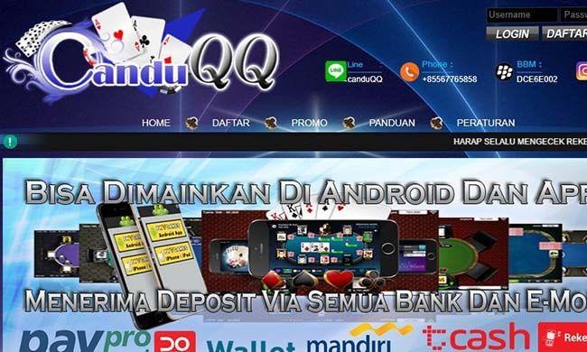 tampilan canduqq | WAJIB DICOBA!! Situs BandarQ Terpercaya