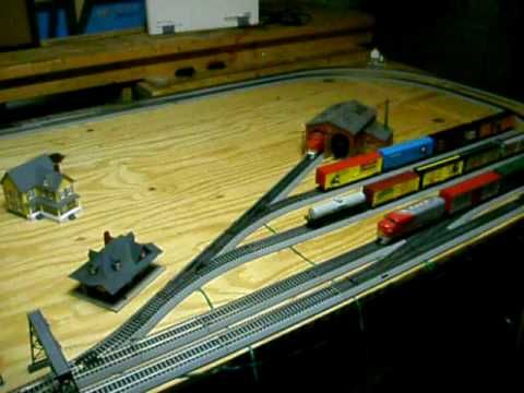 Latest HO Scale 4x8 layout Video | Model Trains | Model