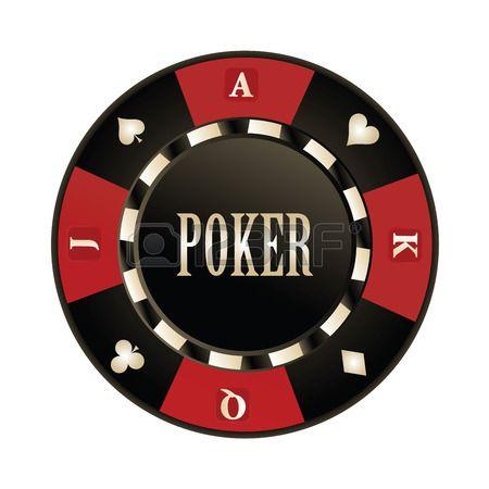 Casino dise o Poker chips vector Foto de archivo