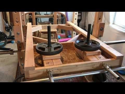 DIY Leg Press for Power Rack - YouTube | No equipment ...