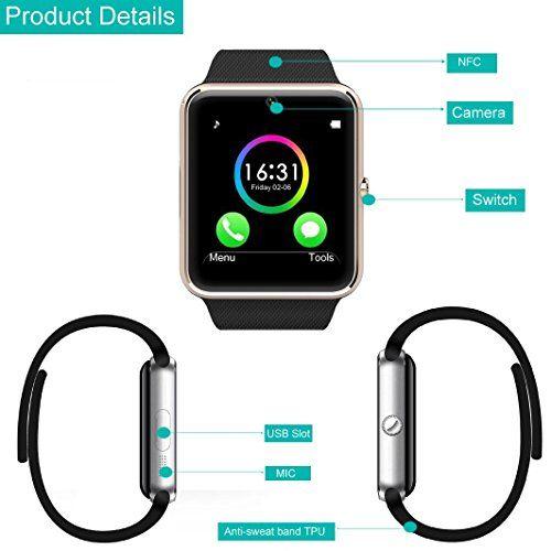 Smart Watch Pashion Bluetooth Smartwatch All In 1 Unlocked Wrist Watc Bluetooth Wrist Watch Phone