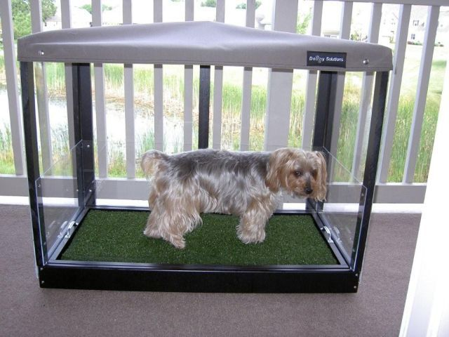 8-15 Covered potty Doggy Solutions | Pets | Pinterest | Dog toilet ...