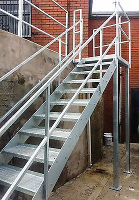 Best Details About 2 4M High Steel Staircase Metal Staircase 400 x 300