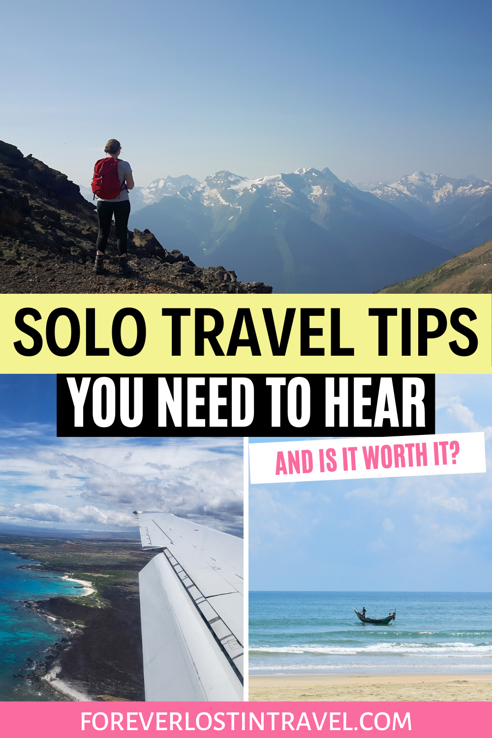 We all think about traveling solo, but are you prepared? What do you need to know? There's a lot to think about. Here are some of the top solo travel tips from someone who has done a lot of solo travel, including some you might not think about #solotravel #travel #foreverlostintravel #solofemaletravel #traveltips #travelguide