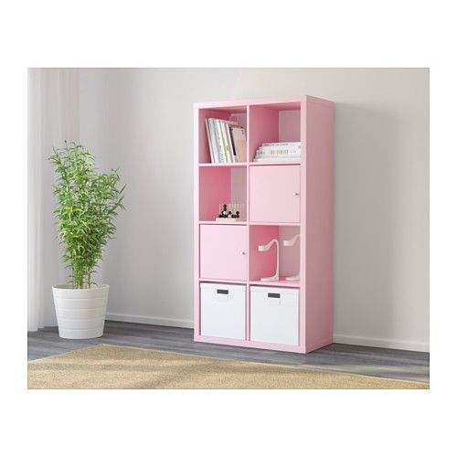 KALLAX Shelving unit - light pink - IKEA | Lilly and Taryn ...