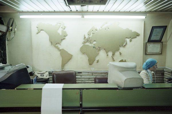 Travel agency interior google zoeken travel agency for Interior design travel agency