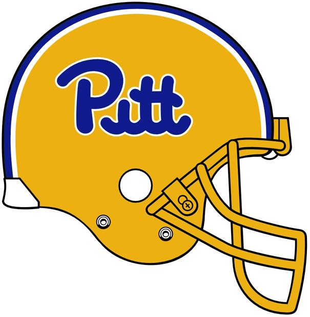 Pittsburgh Panthers Helmet Logo 1973 Pittsburgh Panthers Panthers Helmet Panthers