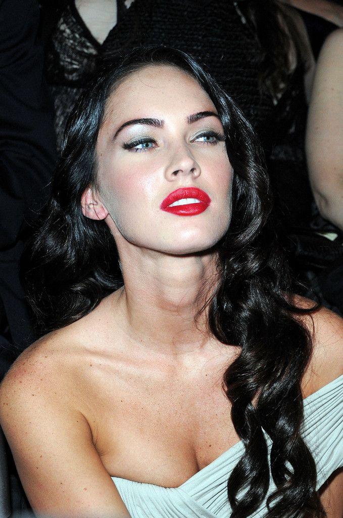 219bdfd41e906 Megan Fox Red Lipstick | SuPeR F0x MeGaN..!! | Megan fox makeup ...
