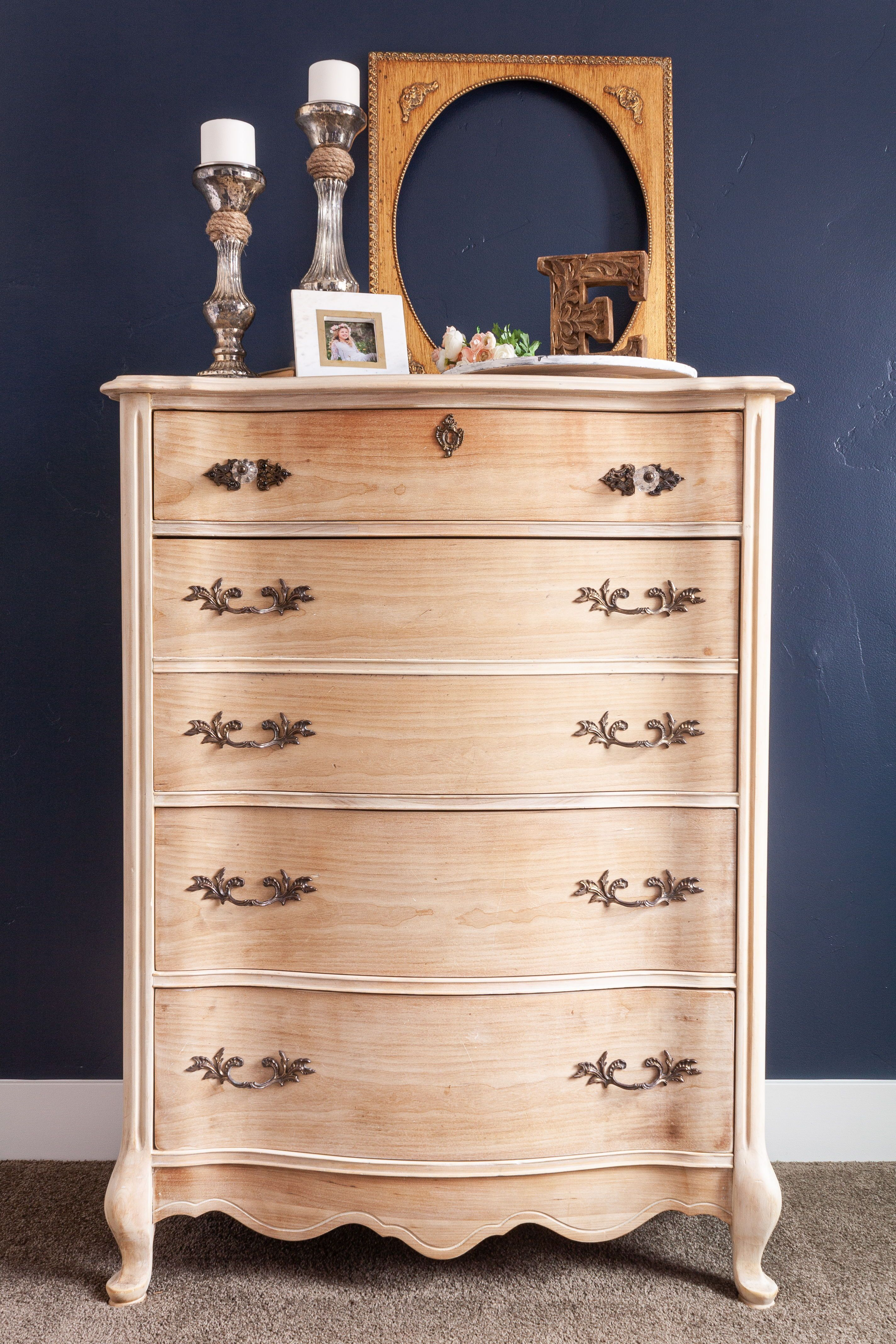 How to get a raw wood finish refinishing furniture