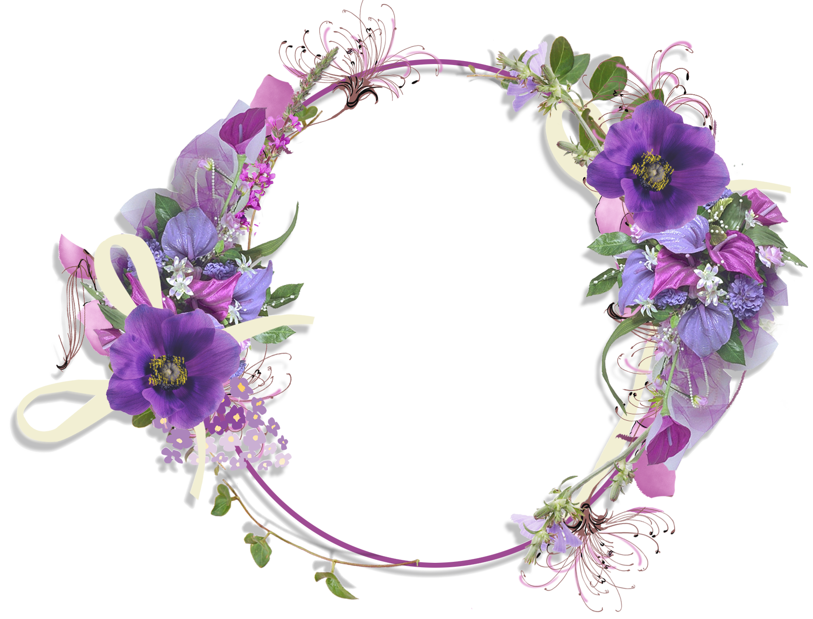Flower frame vector | Vector | Pinterest | Flower frame ...