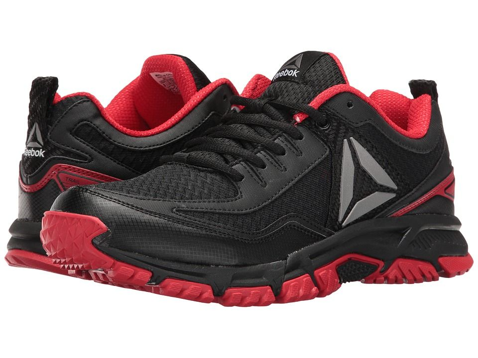 1c4bf7e8eb3818 REEBOK REEBOK - RIDGERIDER TRAIL 2.0 (BLACK PRIMAL RED SILVER) MEN S  WALKING SHOES.  reebok  shoes