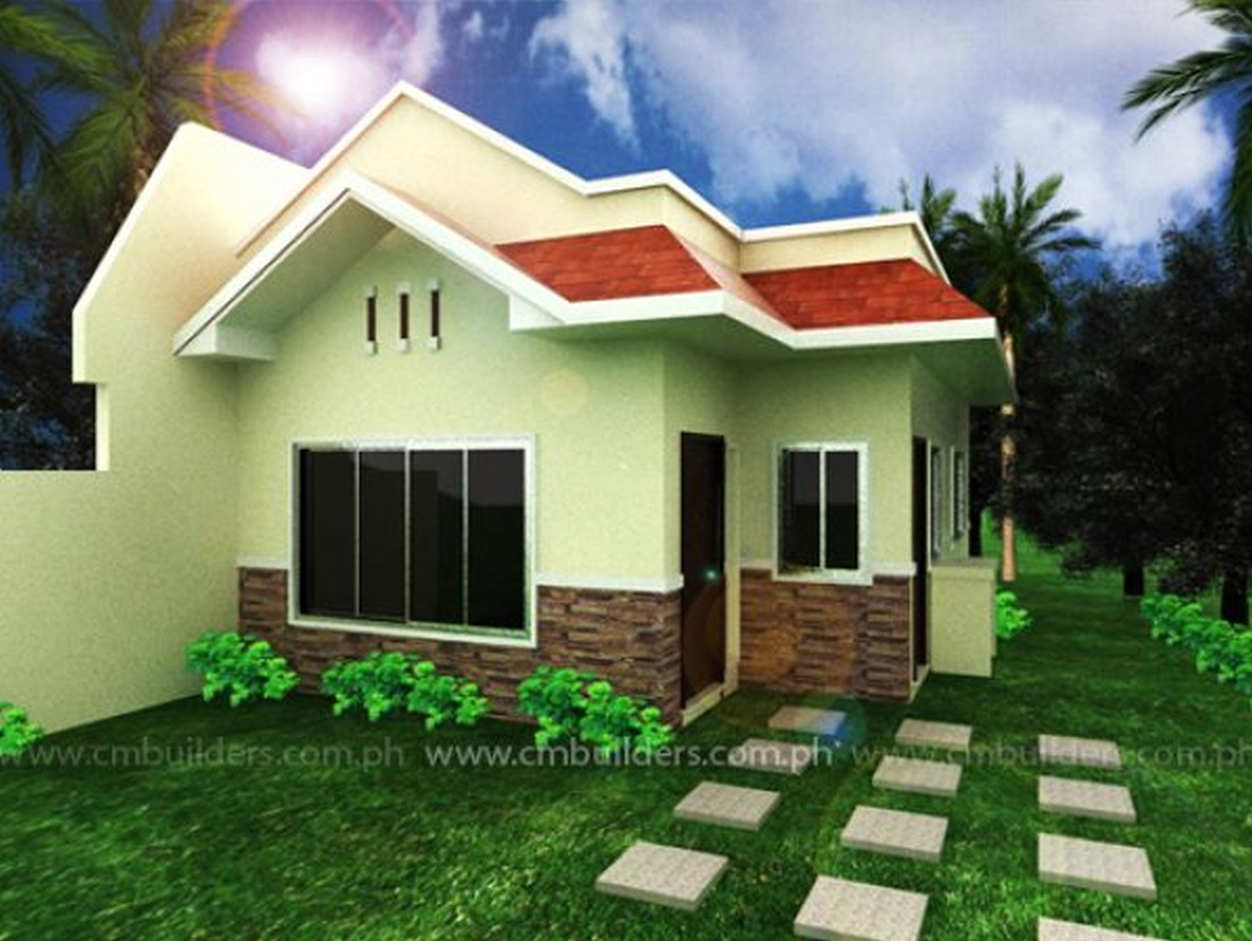 Decorating Adorable Futuristic Houses Bungalow Cool House Plans Good Looking Tiny Hou Philippines House Design House Paint Exterior Mediterranean House Designs