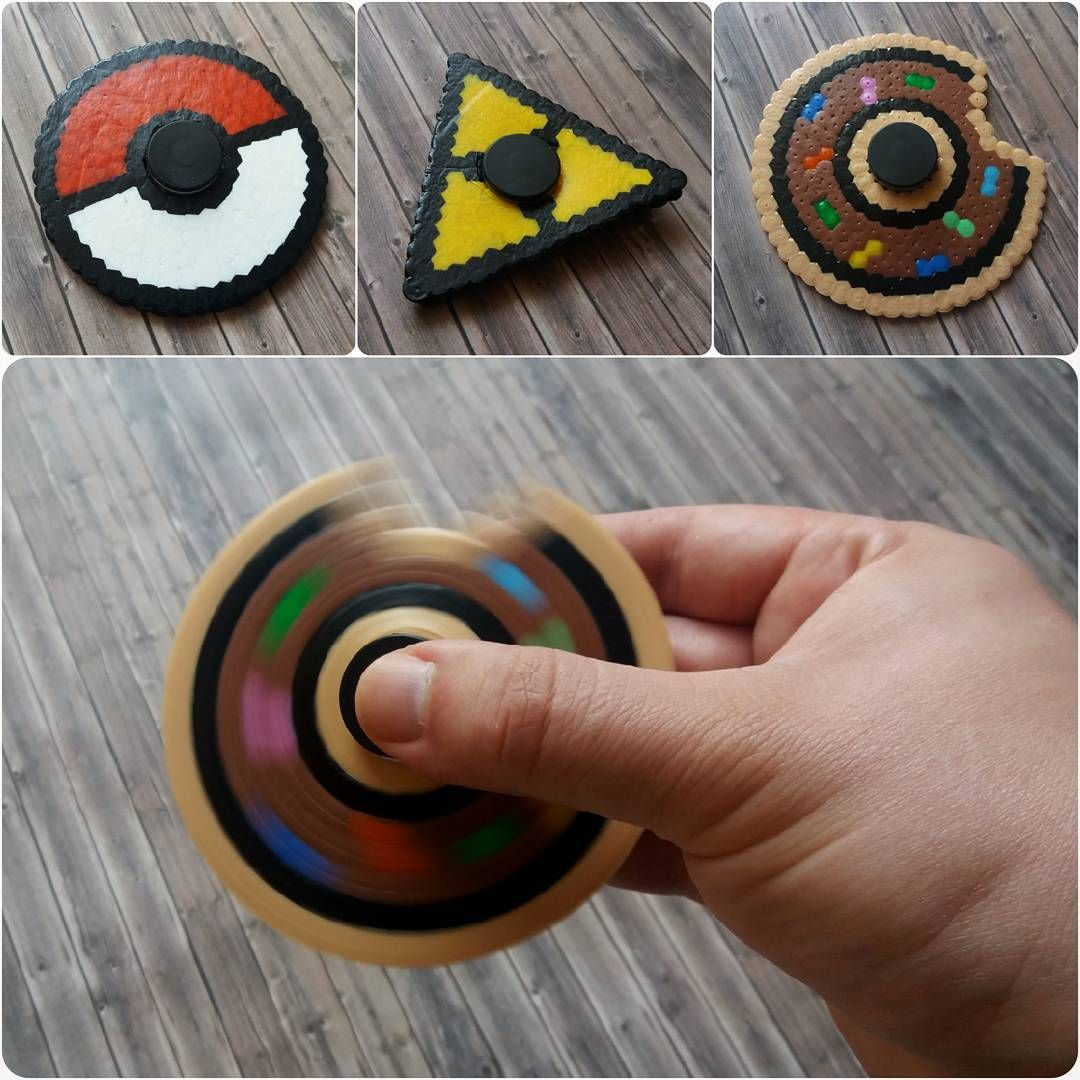 diy fidget spinner pok mon pokeball zelda triforce. Black Bedroom Furniture Sets. Home Design Ideas