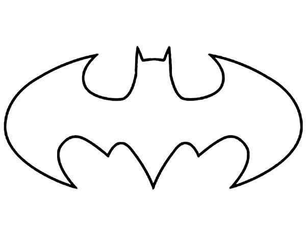 Batgirl Symbol Template