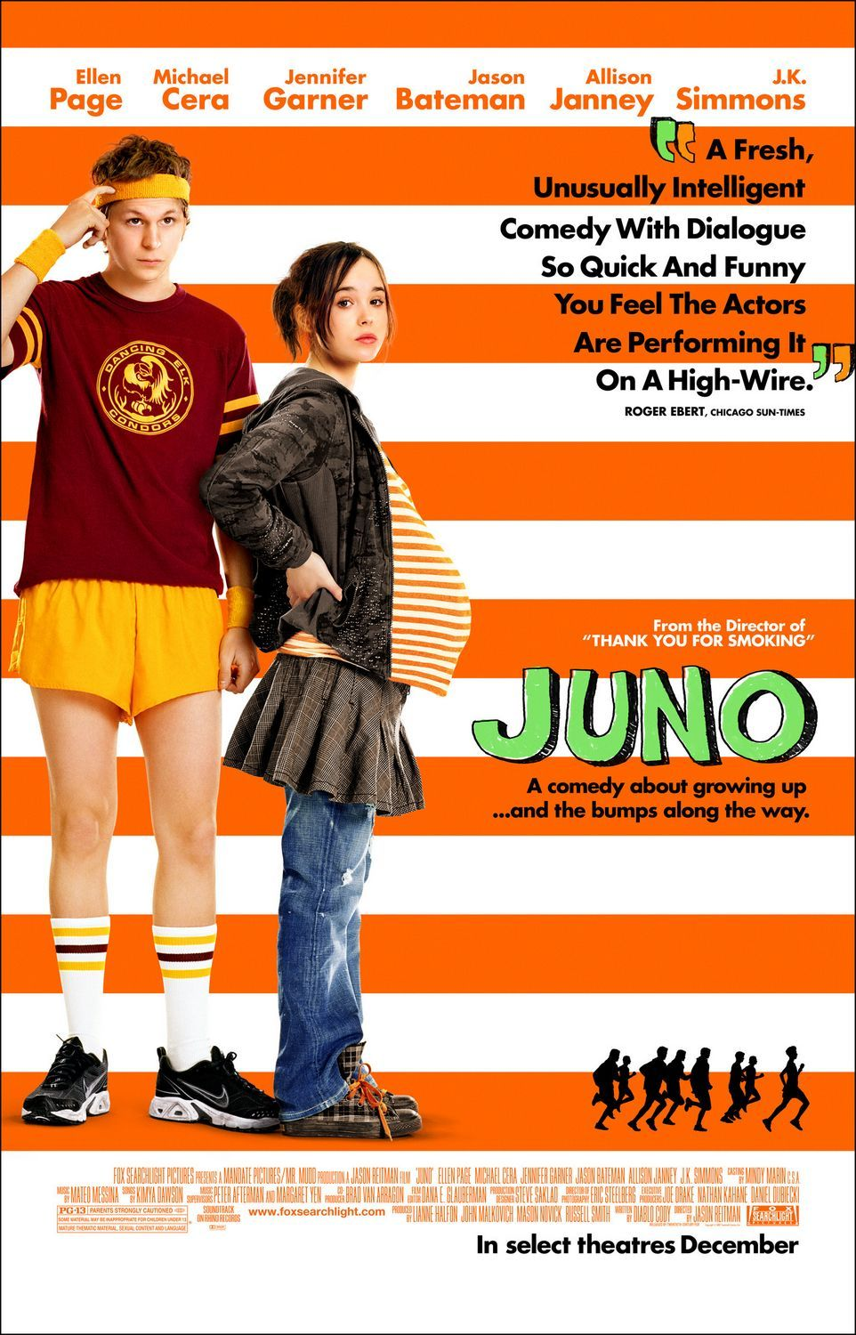 Juno, Hillarious and cool auto stuff and mixing, also Ellen Page nominated for best actress