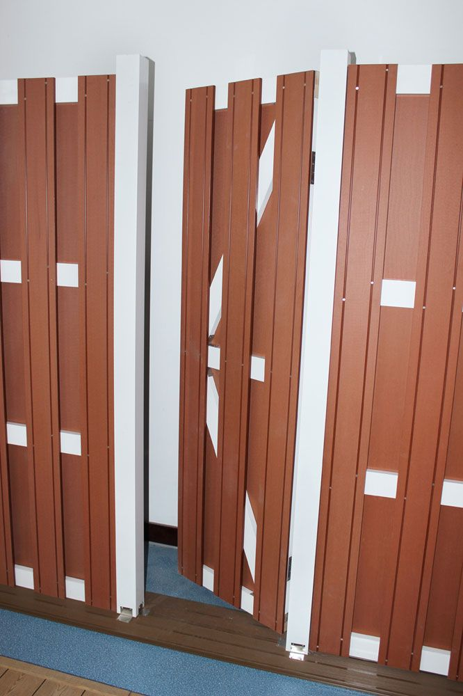 Cheap Brown Wood Plastic Fence For Sale Chicago Pvc