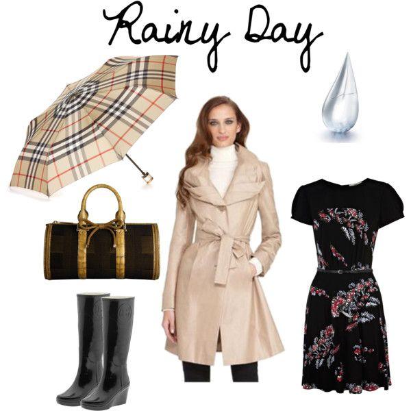 Rainy day,  by dedeaz on Polyvore