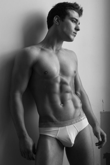 underwear model male Wet