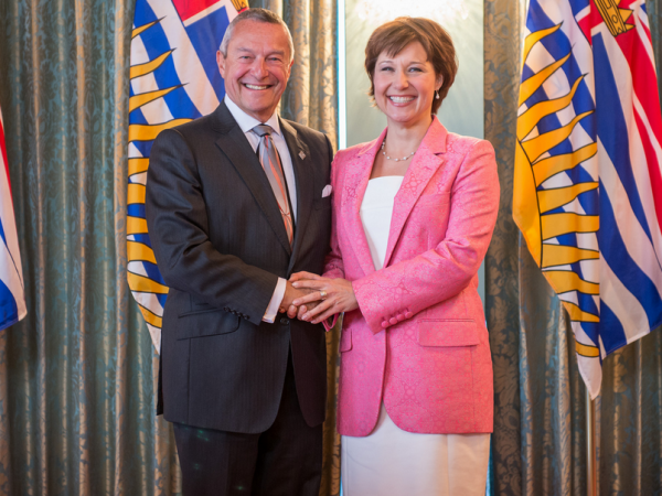 During the contract dispute with teachers, Peter Fassbender and Christy Clark have not said much about the next Fraser River crossing.