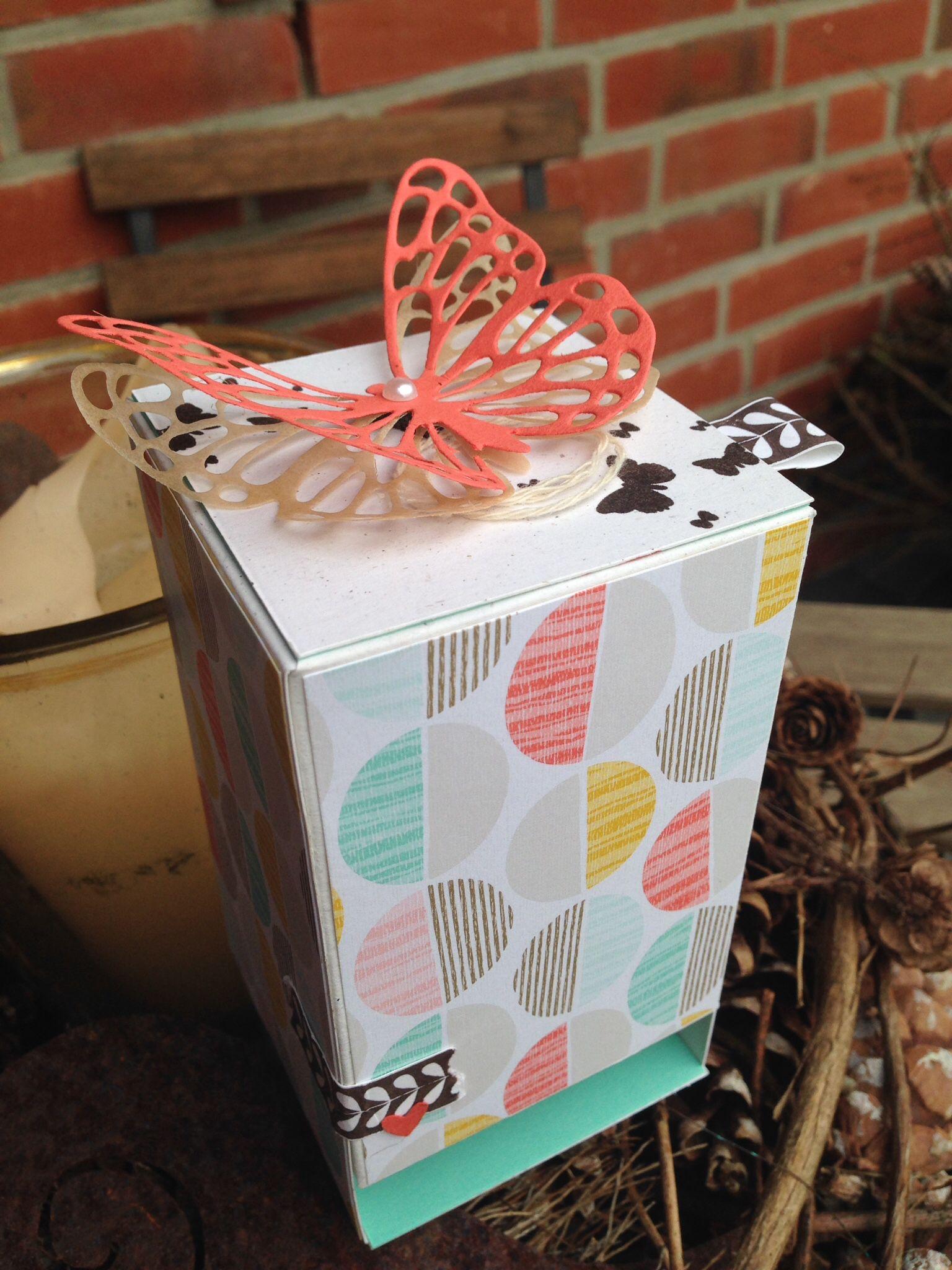 Ein Tee Spender Schachtel Basteln Basteln Und Schachtel
