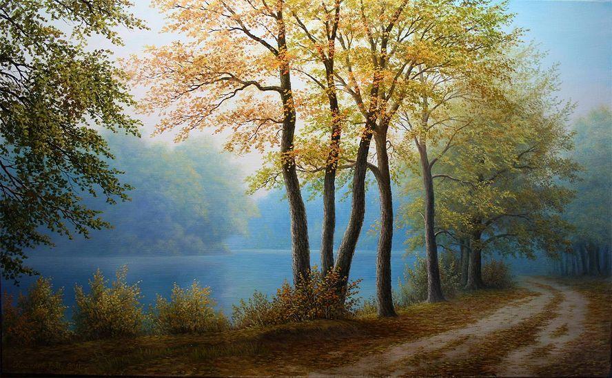 Кошелев Влад. Осеннее утро туманное: levkonoe