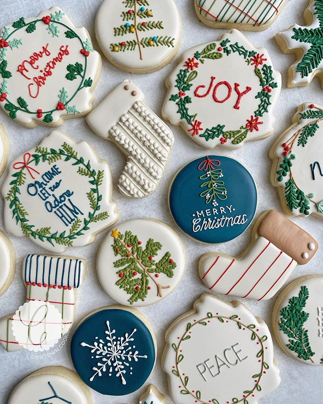 "Cowtown Christmas 2020 Cowtown Cookie Co. on Instagram: ""May the spirit of Christmas fill"