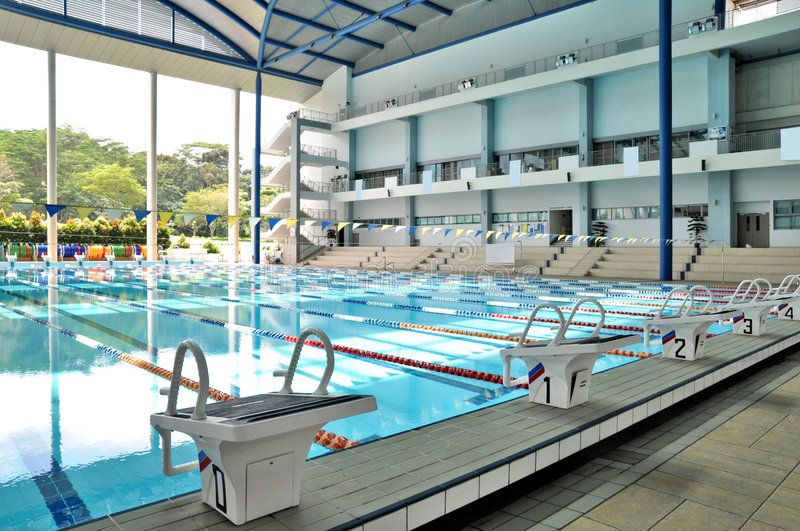 Indoor Olympic Size Swimming Pool A Modern Architecture Of An Indoor Olympic Si Affil Indoor Swimming Pool Design Olympic Size Swimming Pool Swimming Pools
