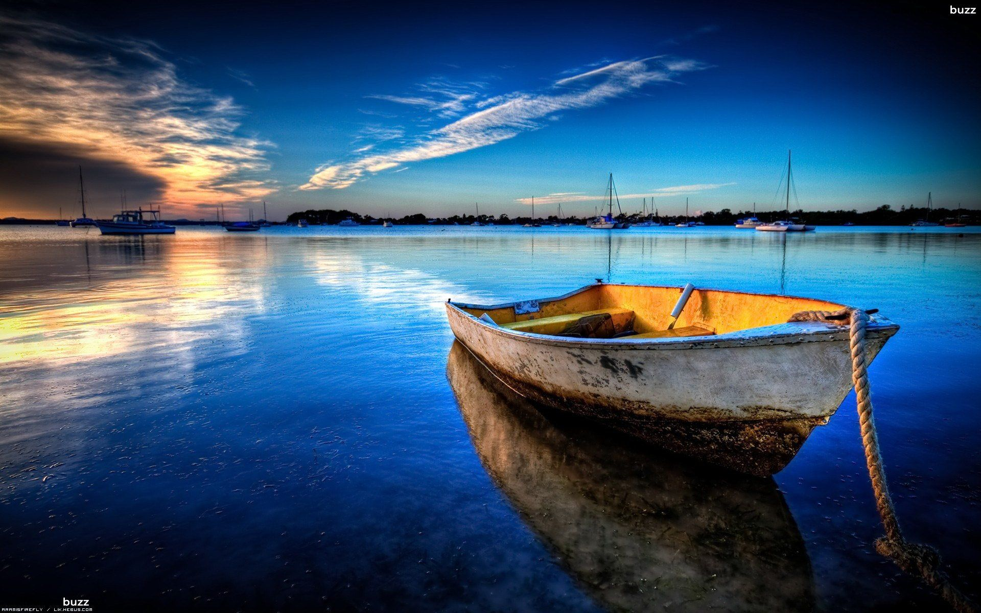 Sunset Wallpapers Hd Wallpapers Pulse Ocean Landscape Sunset Wallpaper Boat