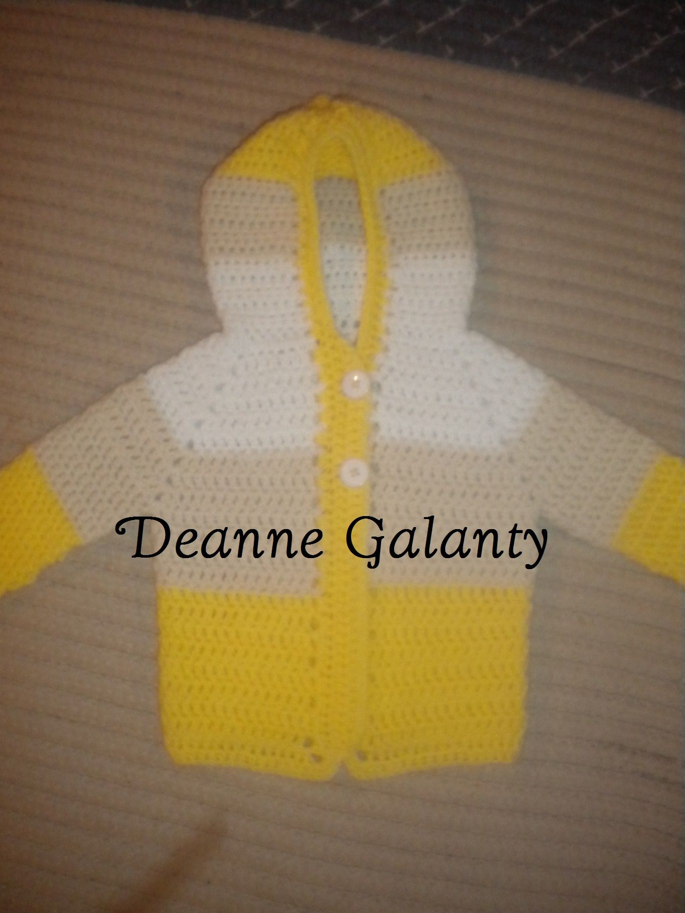 Toddler sweater, inspired by The crochet Crowds baby sweater on ...